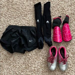 Perfect Condition Girls Soccer Lot -4-6 yr old